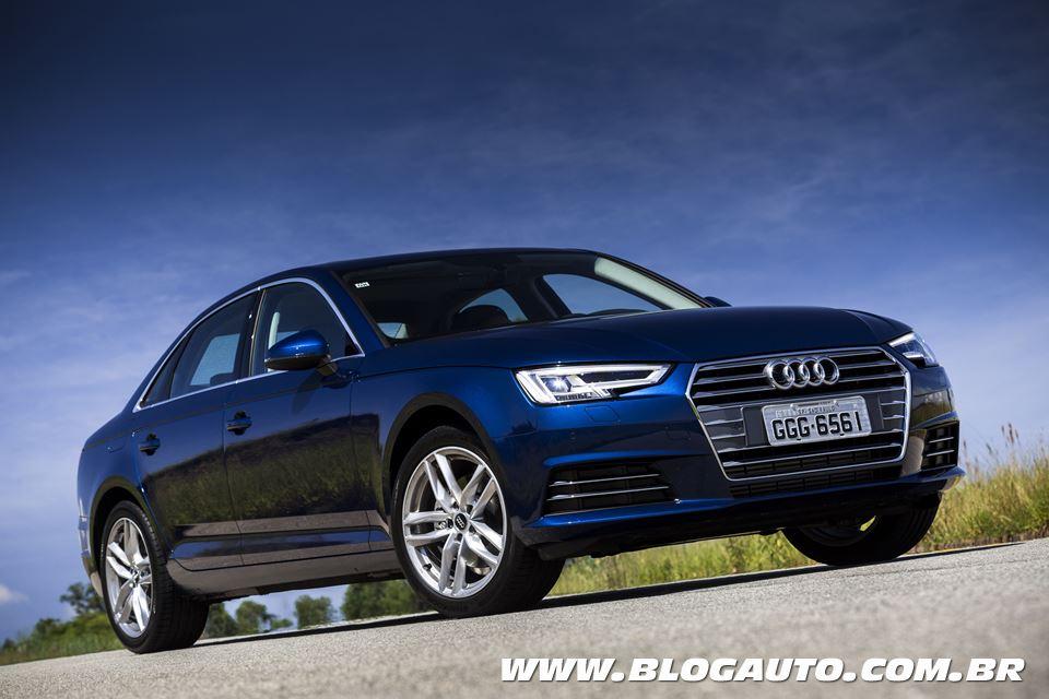 Tabela de preços dos veículos da Audi