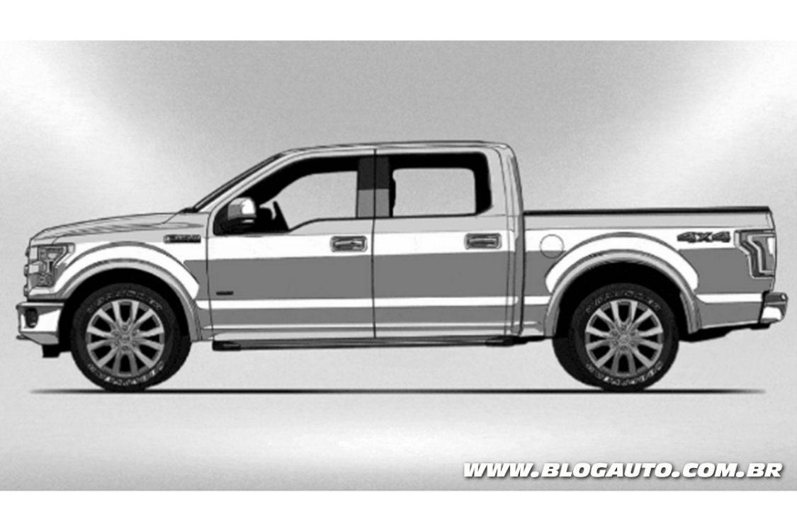 A evolução da picape Ford Série F - BlogAuto