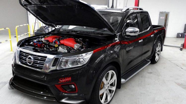 Nissan Frontier preparada pela SVM