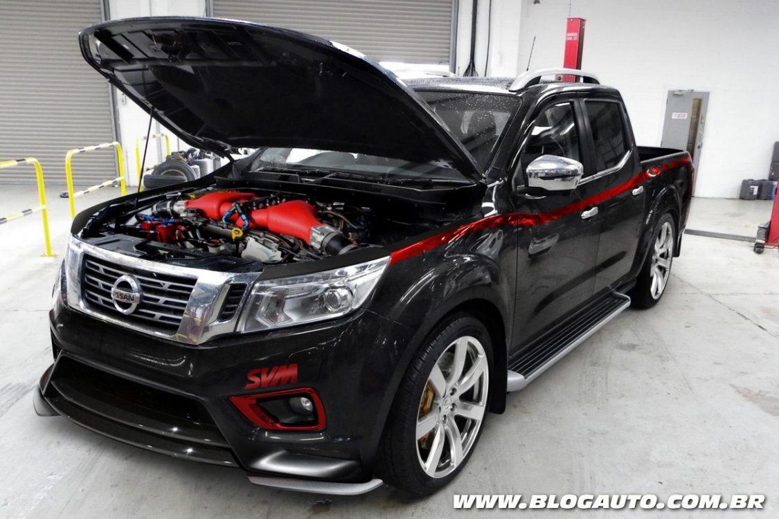 Nissan Frontier preparada chega a 811 cv com motor do GT-R