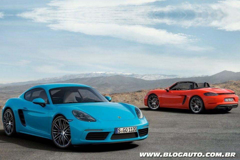 Porsche 718 Boxster e Cayman S