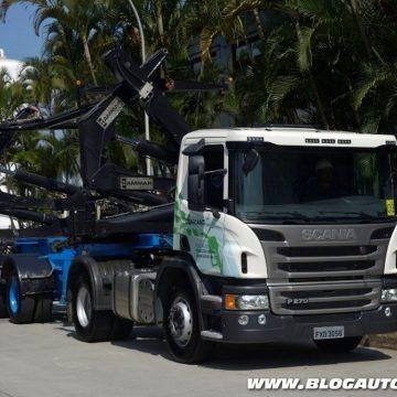Caminhão Scania com etanol de segunda geração