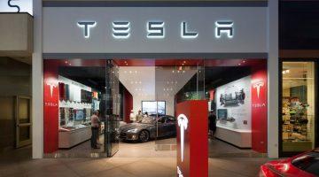 Concessionária da Tesla nos EUA