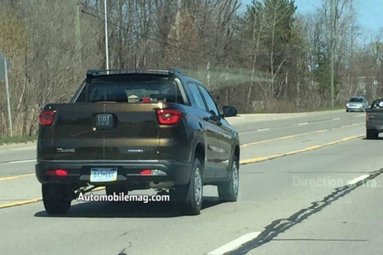 Fiat Toro em testes nos Estados Unidos