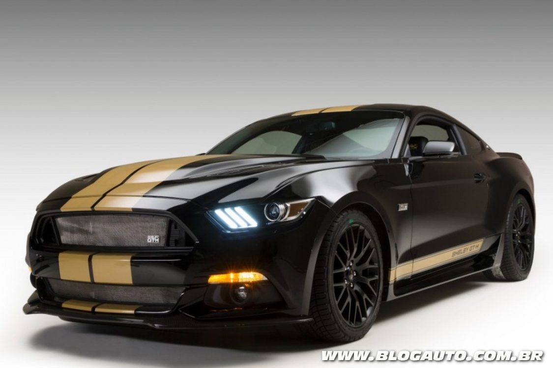 ford mustang shelby gt350 h celebra 50 anos blogauto. Black Bedroom Furniture Sets. Home Design Ideas
