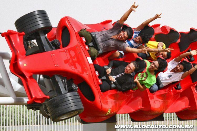 Formula Rossa no parque da Ferrari