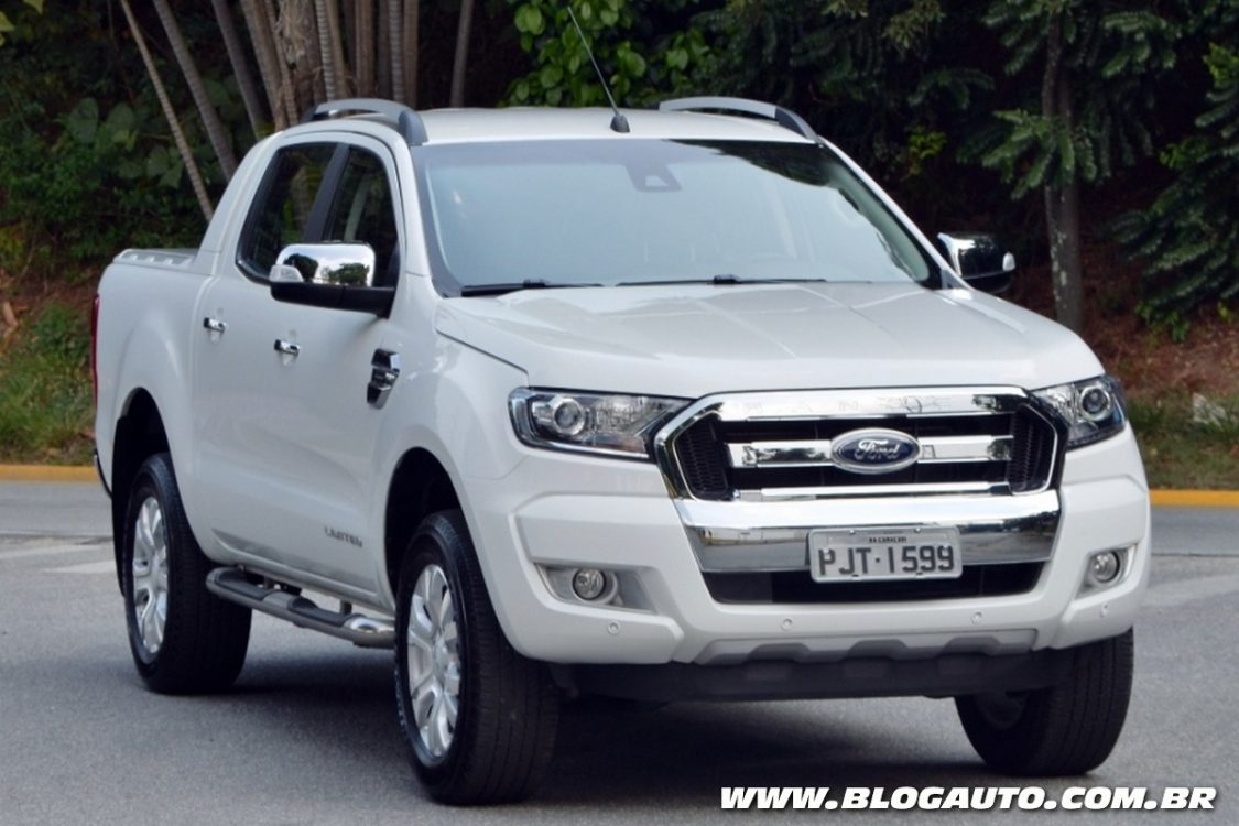 ford ranger 2017 com motor flex parte de r blogauto. Black Bedroom Furniture Sets. Home Design Ideas