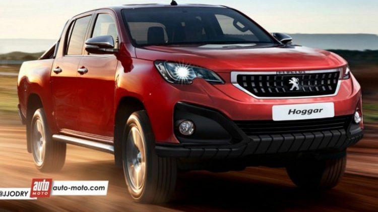 Picape da Peugeot baseada na Hilux