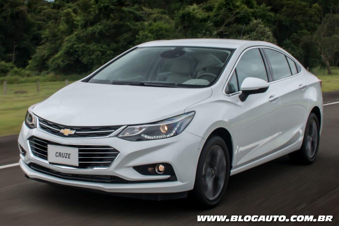 Chevrolet Cruze 2017: ficha técnica e conteúdos