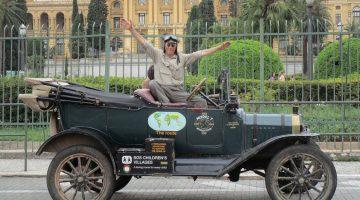 Ford T na viagem de volta ao mundo