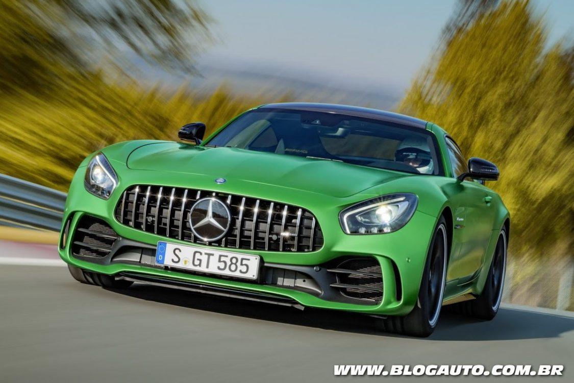 Mercedes-AMG GT R vai de 0 a 100 km/h em 3,6 s