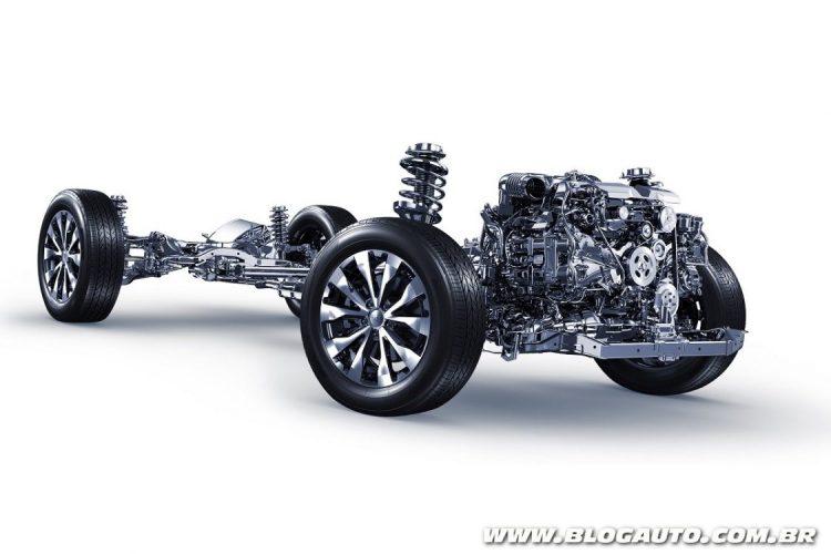 Motor boxer da Subaru