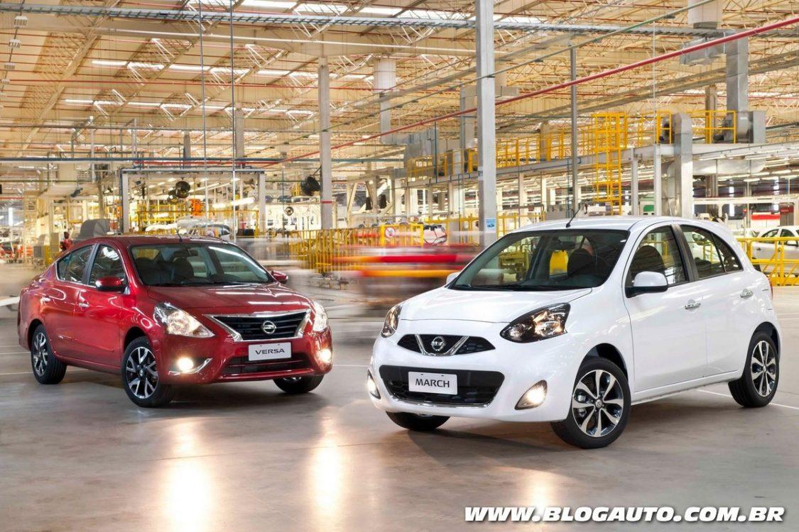 Avaliação: Nissan March e Versa estreiam câmbio CVT