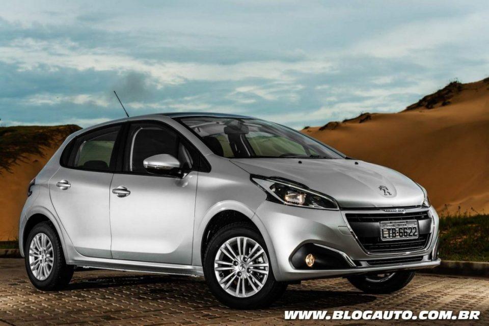 Peugeot 208 1.2 Puretech é o carro flex mais econômico do Brasil