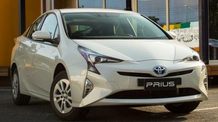 Toyota Prius é um exemplo de carro híbrido vendido no Brasil
