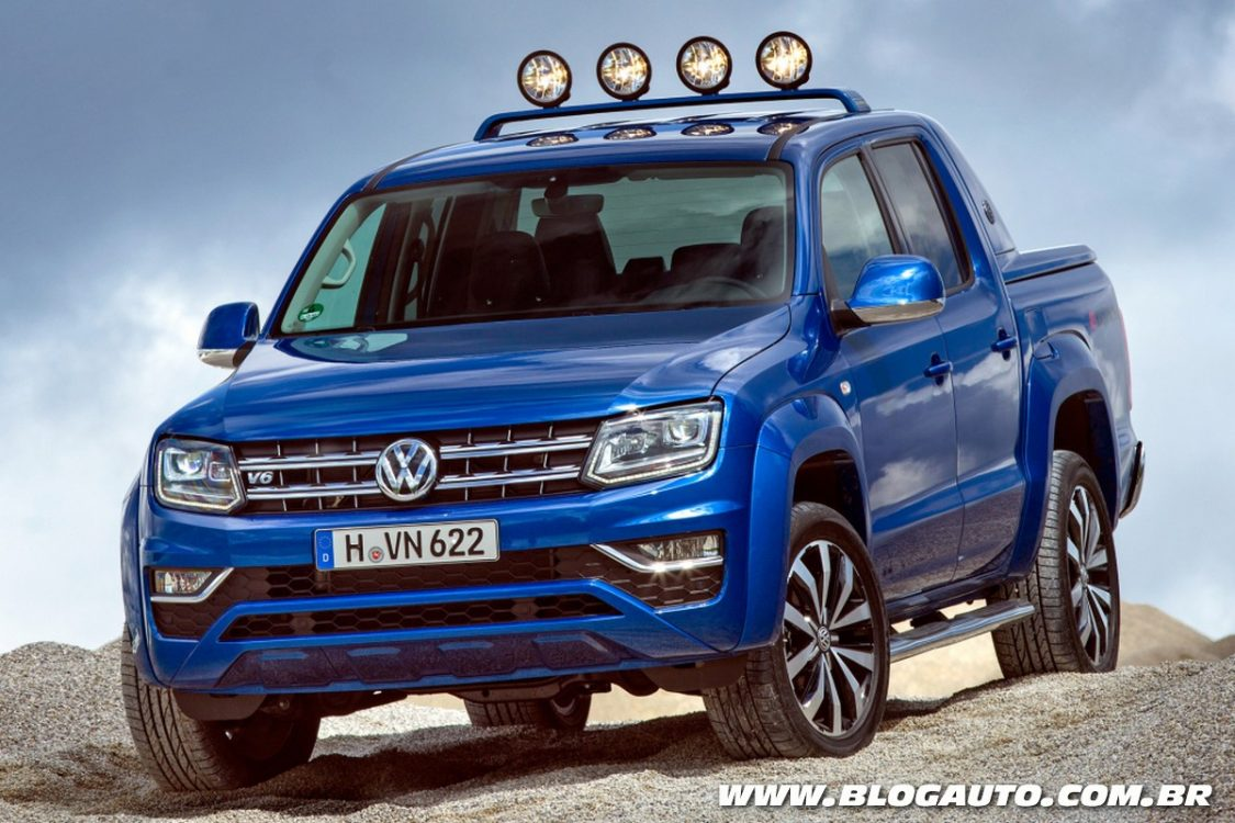 volkswagen amarok v6 confirmada para o brasil blogauto. Black Bedroom Furniture Sets. Home Design Ideas