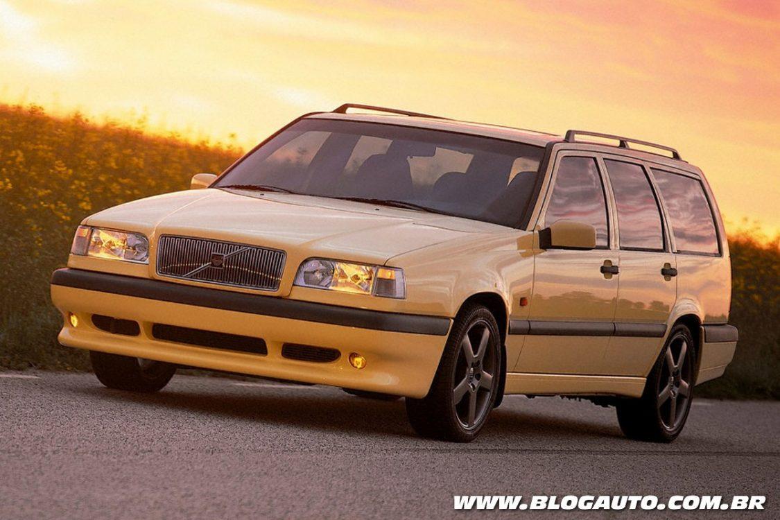 Icônico Volvo 850 comemora seus 25 anos