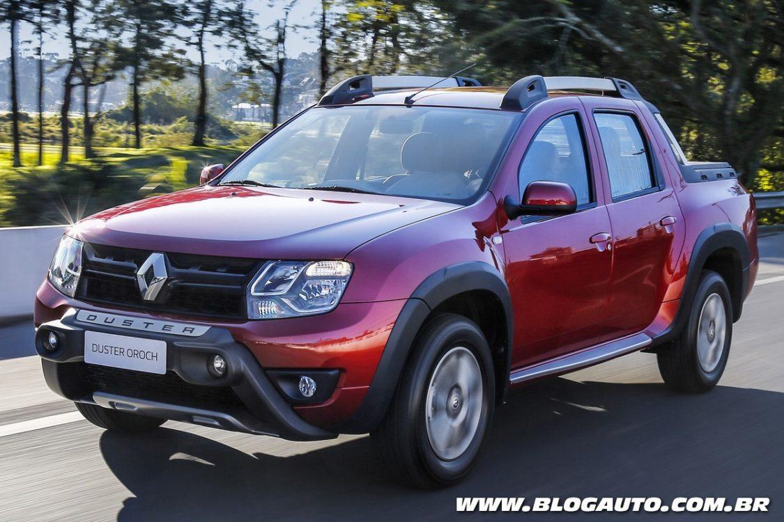 Tabela de preços dos veículos da Renault