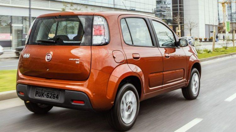 Fiat Uno foi o primeiro carro nacional com start/stop, em 2014