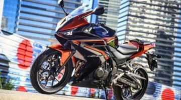 Honda CBR 500R 2016