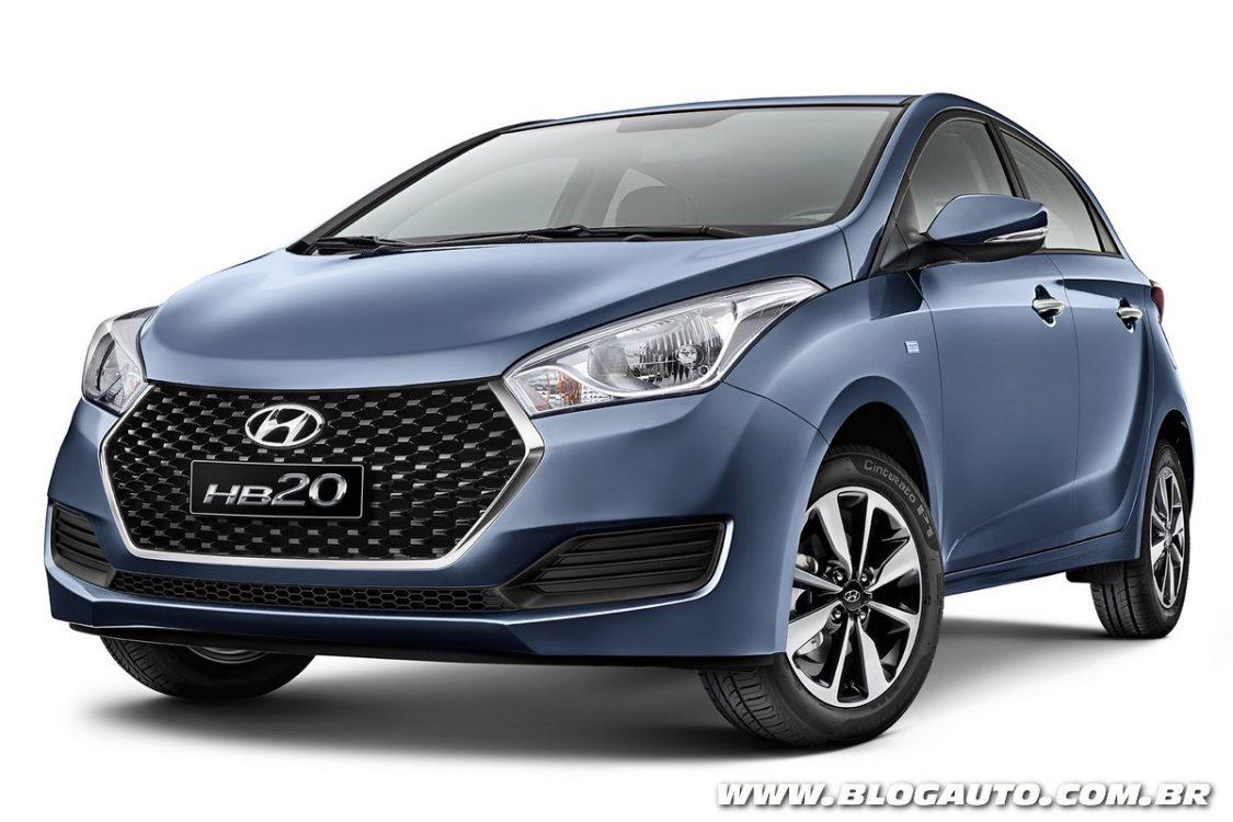 Tabela de preços dos veículos da Hyundai