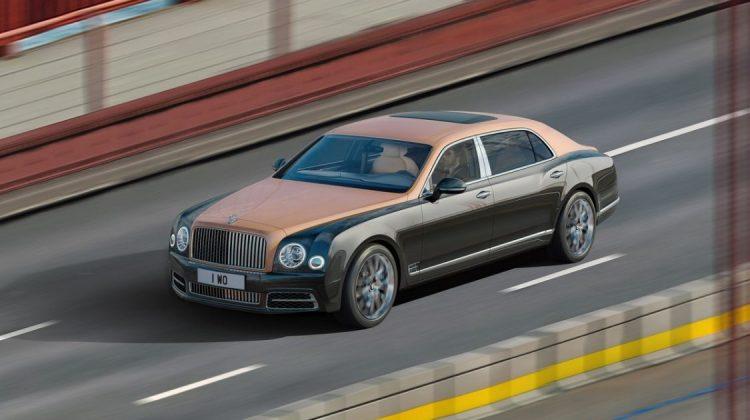 Imagem gigapixel do Bentley Mulsanne