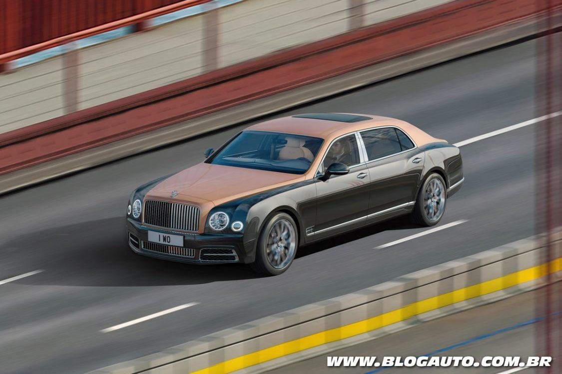 Bentley mostra novo Mulsanne em imagem gigapixel