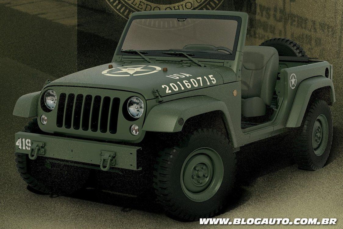 Jeep celebra seus 75 anos com o Wrangler 75th Salute