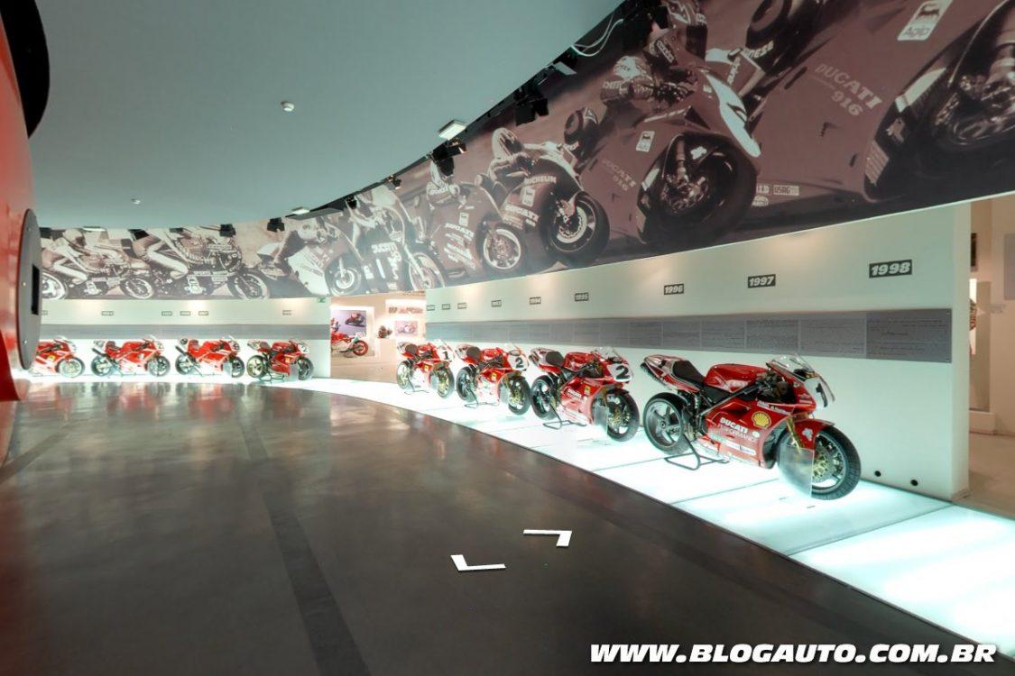 Visite o Museu da Ducati agora mesmo, veja como