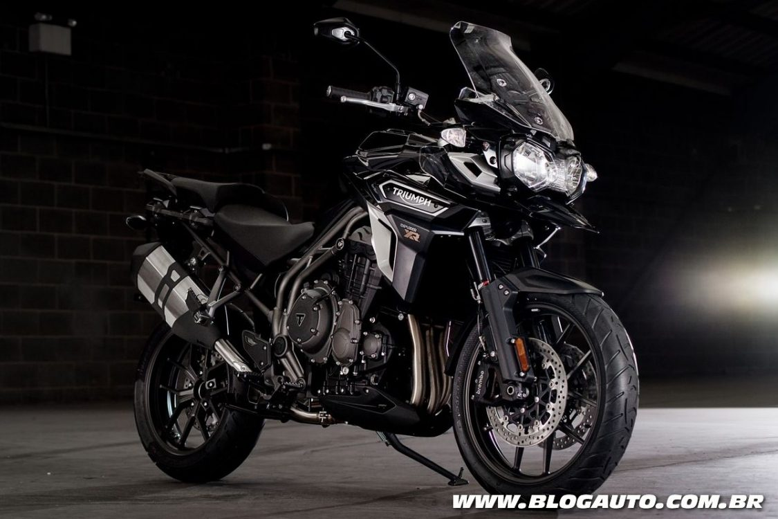 Triumph Tiger Explorer e Speed Triple R chegam ao Brasil