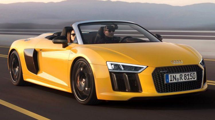 Audi R8 Spyder V10 2017