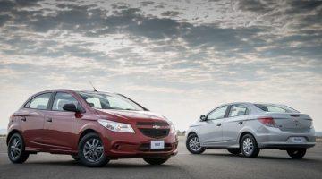 Chevrolet Onix e Prisma Joy