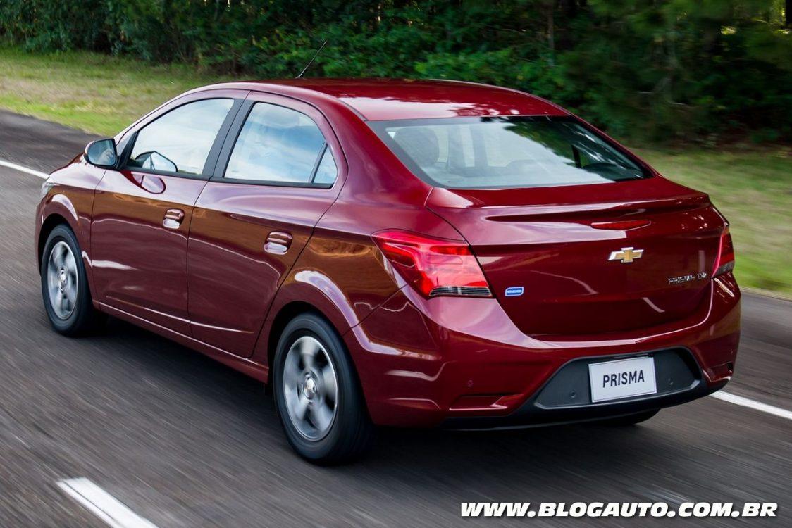 Com novo visual, Chevrolet Prisma 2017 parte de R$ 53.690 - BlogAuto