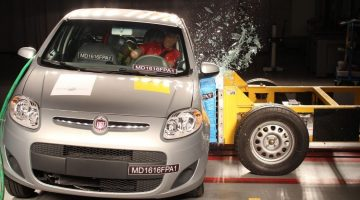 Fiat Palio no crash test