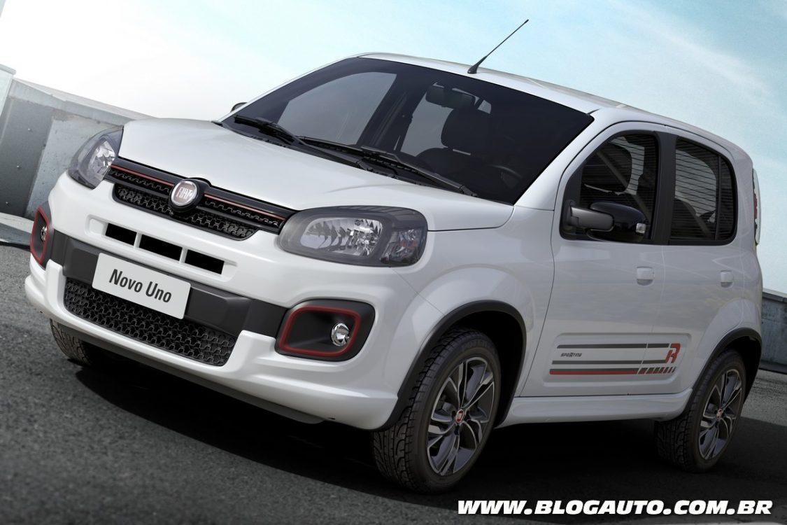Fiat Uno 2017 em setembro com novo visual e motores GSE