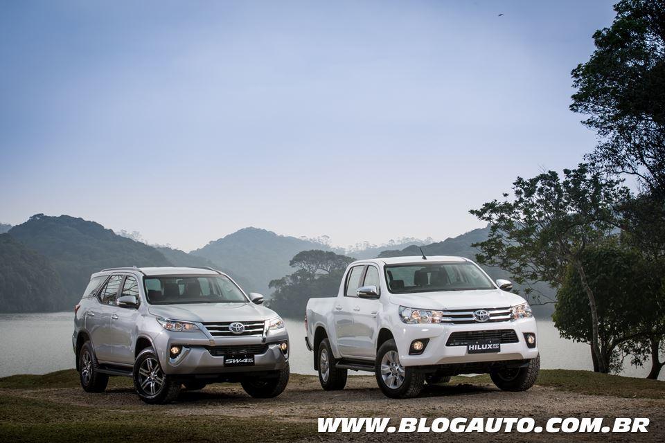 Avaliação: Toyota Hilux e SW4 Flex a partir de R$ 111.700