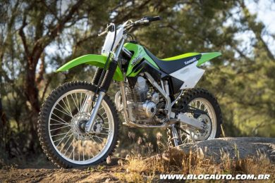 Kawasaki KLX 140F 2017