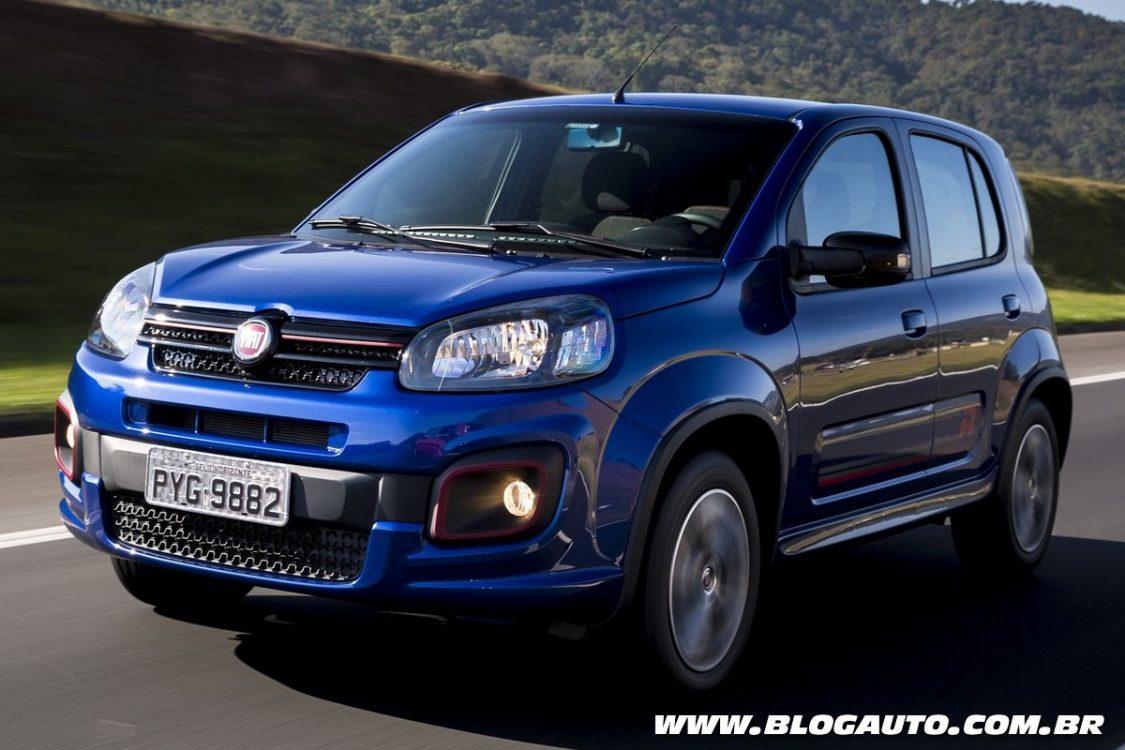 Fiat Uno 2017 ganha novos motores e parte de R$ 41.840