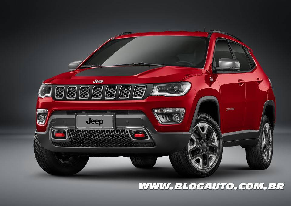 jeep compass 2017 chega a partir de r blogauto. Black Bedroom Furniture Sets. Home Design Ideas