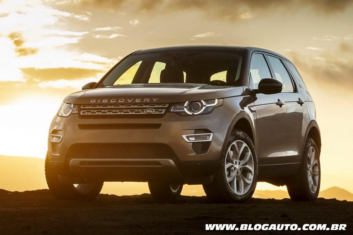 Land Rover Discovery Sport nacional mantém preços