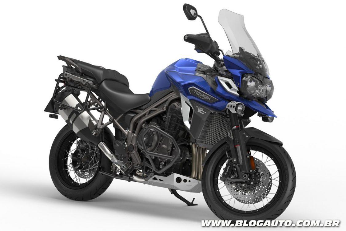 Tabela de preços das motos da Triumph