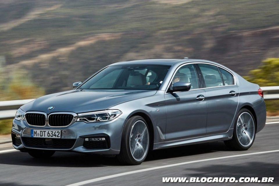 BMW Série 5 2017 oferece sistemas de direção autônoma