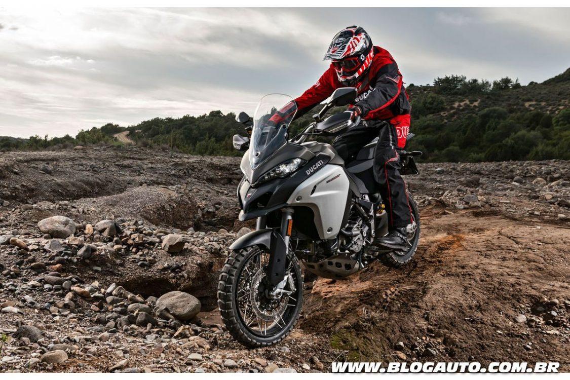 Ducati Multistrada 1200 Enduro chega por R$ 89.900