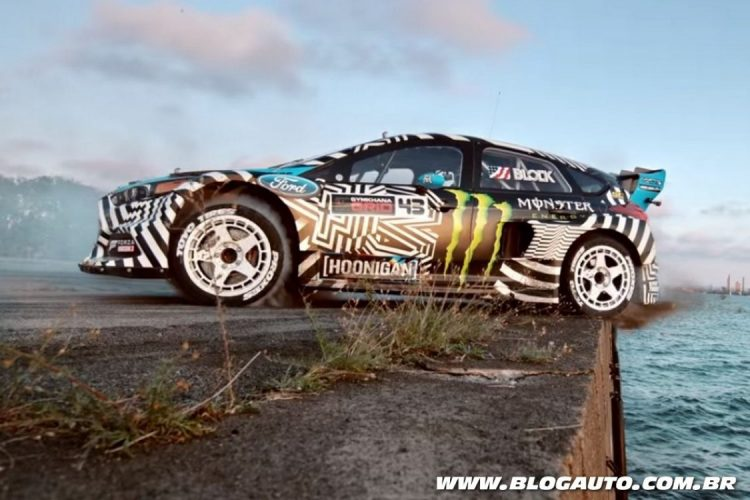 Ken Block com o seu Ford Focus RS RX