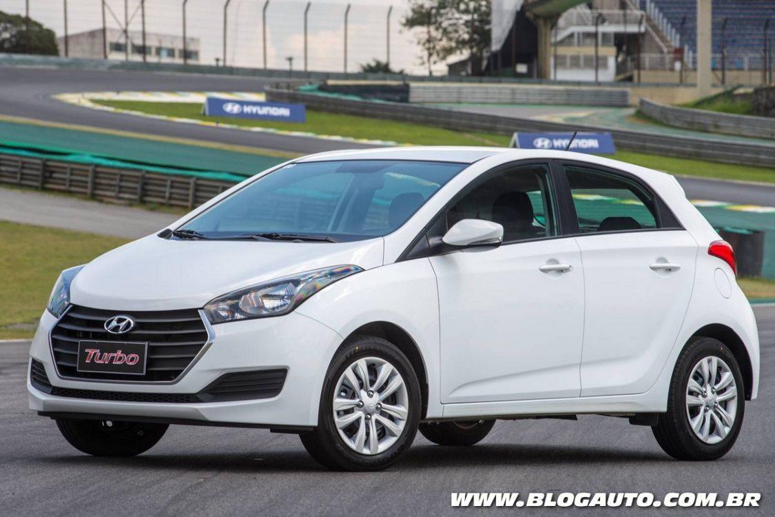 Hyundai HB20 2017 oferece versão Turbo por R$ 48.885