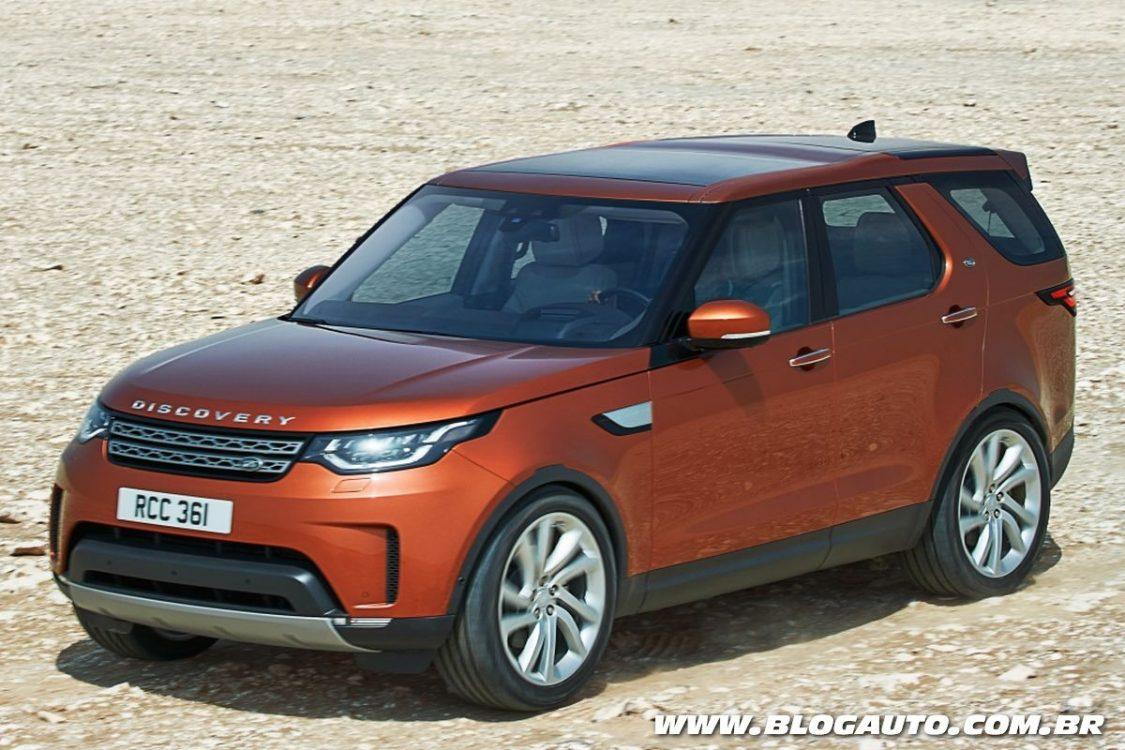 Land Rover Discovery 2017 estreia sua quinta geração