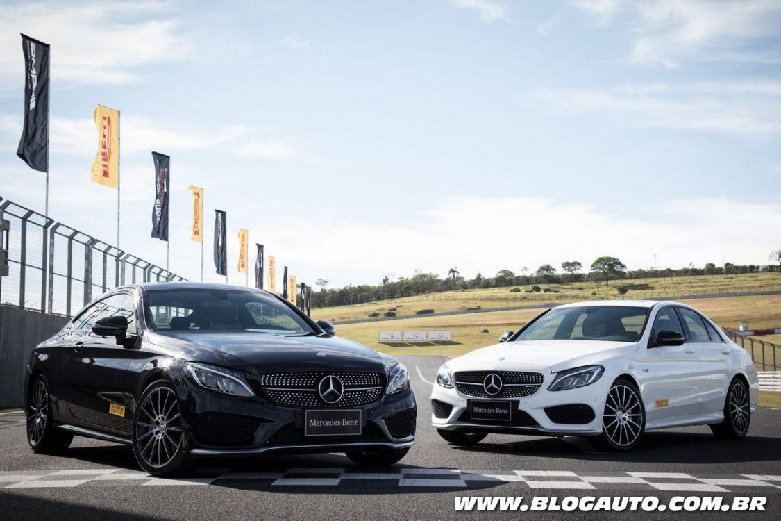 Mercedes-Benz lança dois novos cupês AMG no Brasil