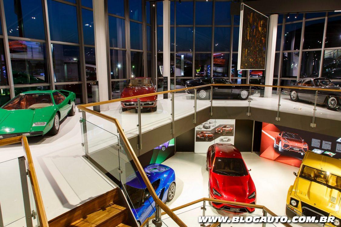Visite o Museu da Lamborghini agora mesmo, veja como