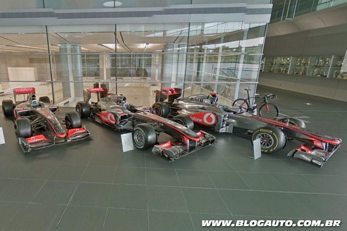 Visite o museu da McLaren agora mesmo, veja como