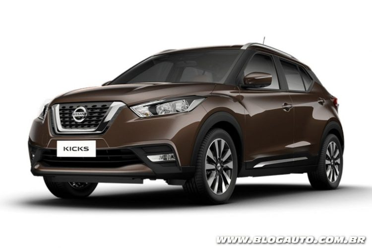 nissan kicks 2017 conhe a todas as cores do crossover blogauto. Black Bedroom Furniture Sets. Home Design Ideas